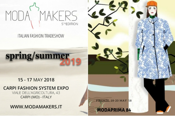 ModaMakers & ModaPrima May 2018