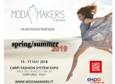 Moda Makers, Carpi 2018